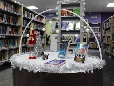 Snow display