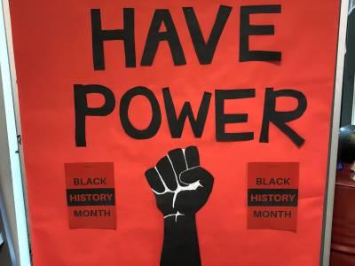 Black History display