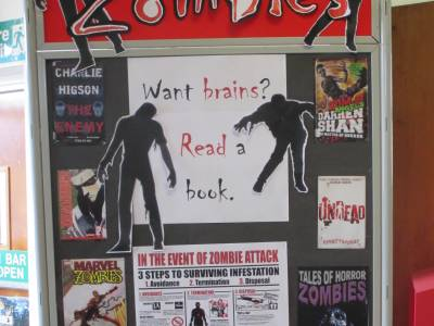 Zombies display